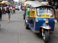 ריקשה בנגקוק תאילנד טוק טוק  / צלם: רויטרס